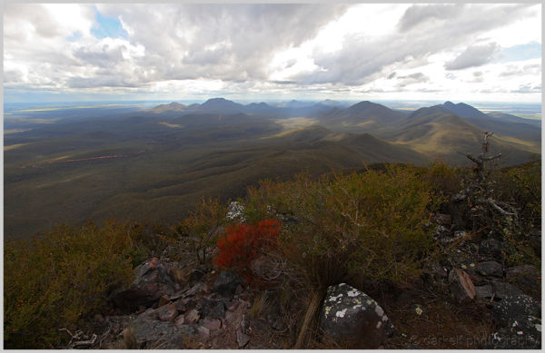 view of stirling ranges
