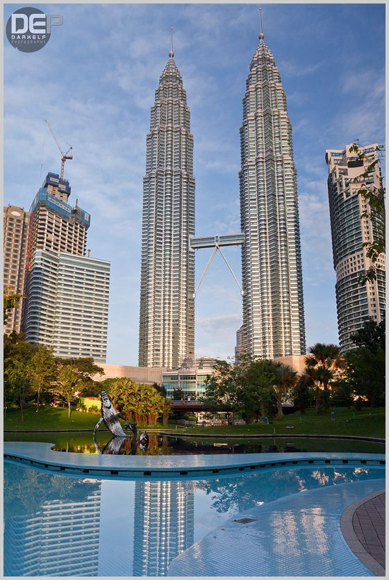 petronas towers in daylight