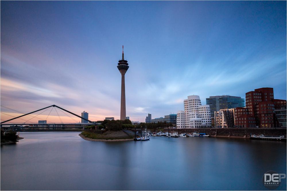 dusk over the Rhine