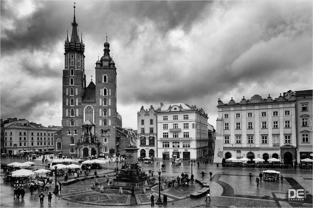 the heart of Kraków