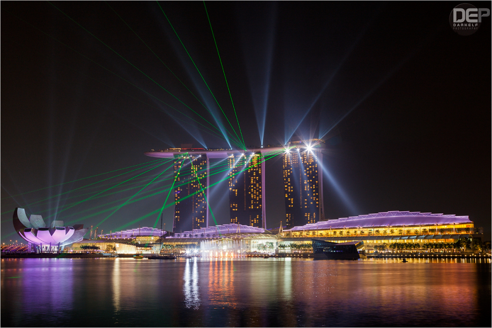 Singapore laser show