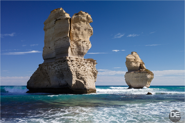 two apostles close up