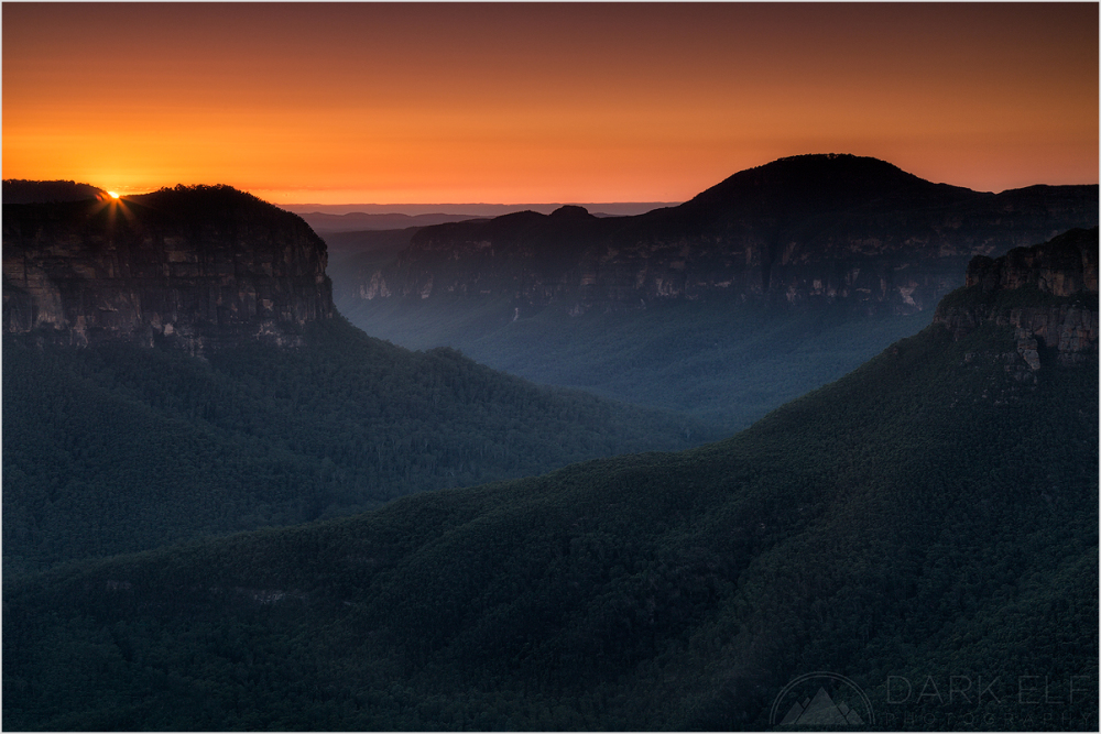 Grose Valley Sunrise