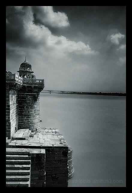 The Ganga at Ramnagar