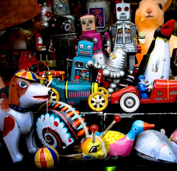 robots toys toy