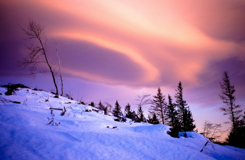 snow clouds
