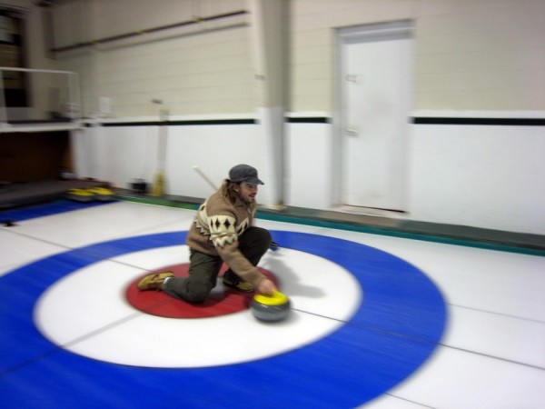 Curling Dude
