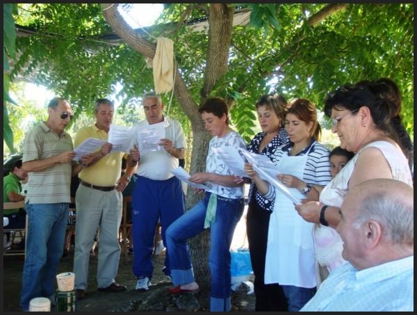 viciños de albin cantando galicia terra meiga