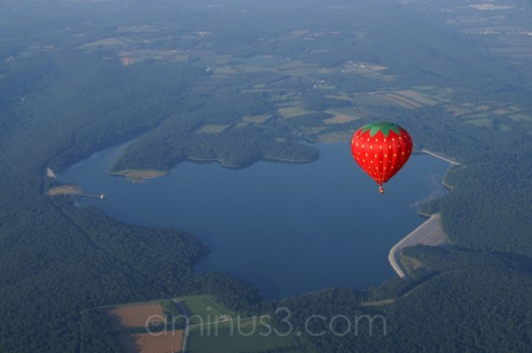 Merrill Creek Reservoir from the Air