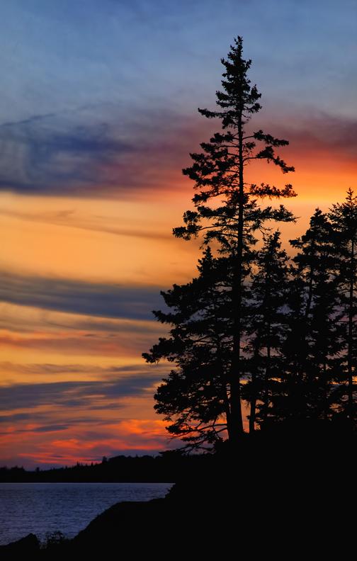 Deer Isle, Maine Sunset