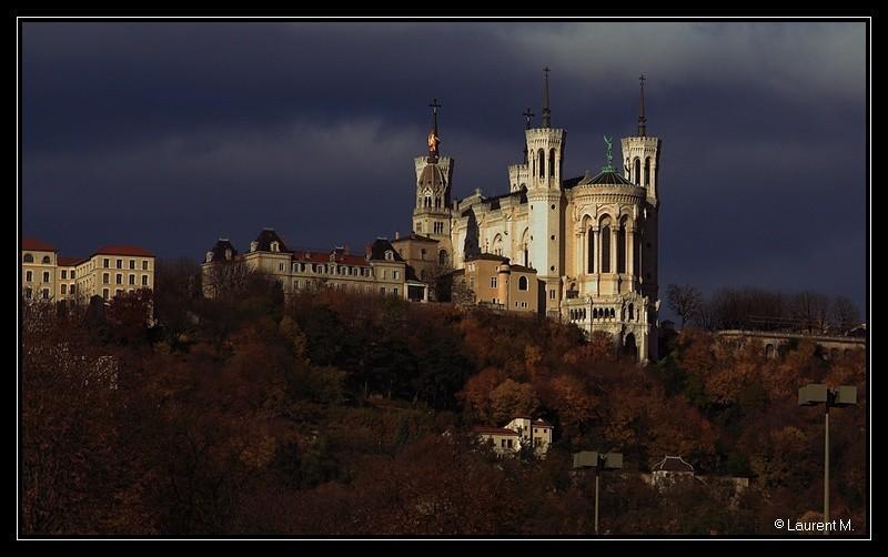 Lyon, La basilique de Fourvière