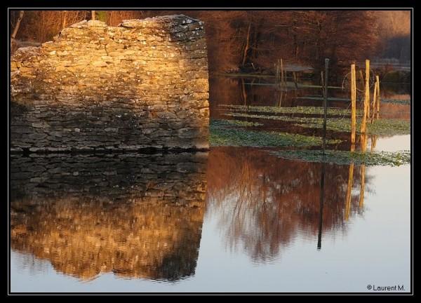 ruines du moulin des Gabilles
