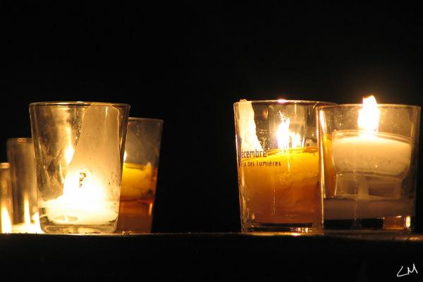 illuminations du 8 décembre à Lyon