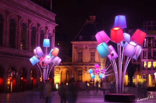 la fêtre des lumières Lyon 2012