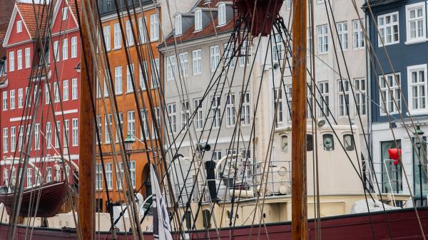 Nyhavn à Copenhague au Danemark