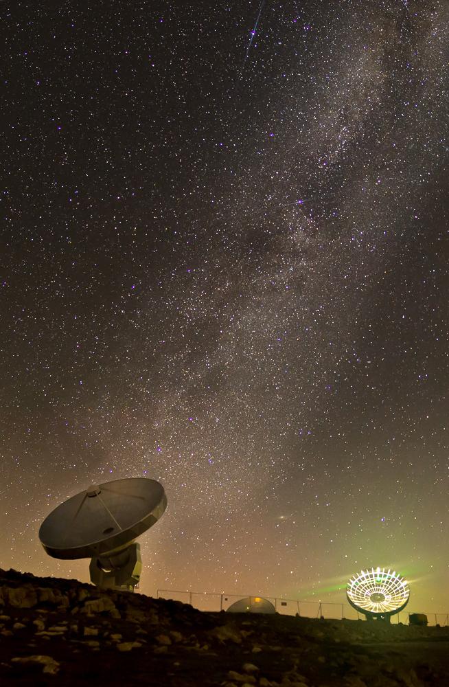 voie lactée observatoire plateau de bure