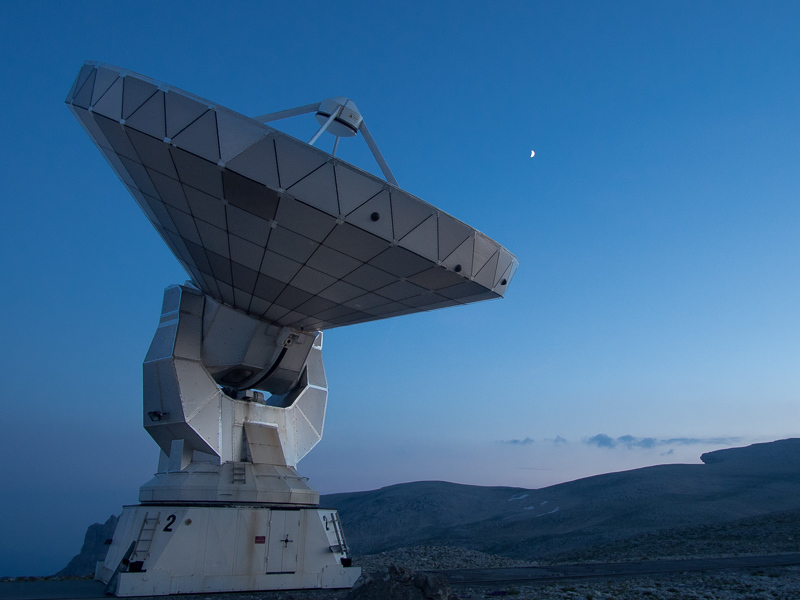 l'interféromètre millimétrique du plateau de Bure