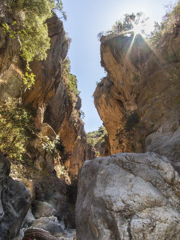 Φαράγγι Σαρακίνας Sarakina Gorge