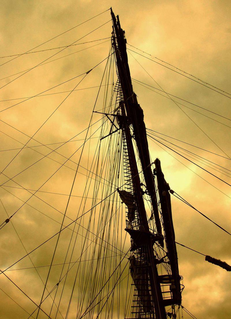 NE Sagres  (main-mast)