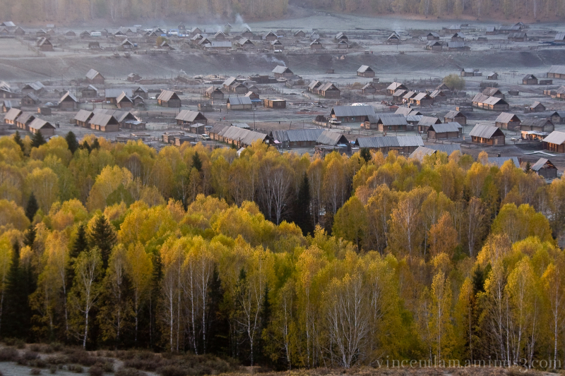 China, XinJiang, Hemu Village