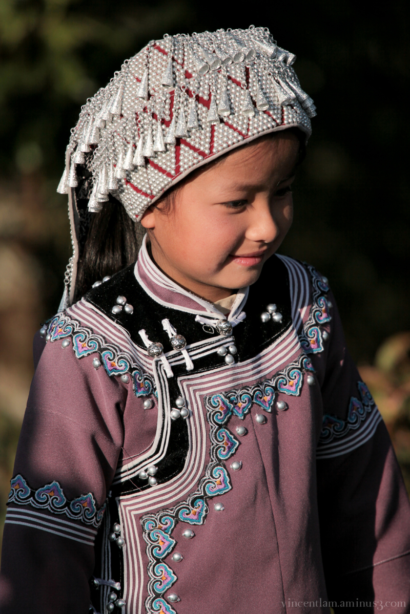 China, YunNan, YuanYang, HaNi and Yi People