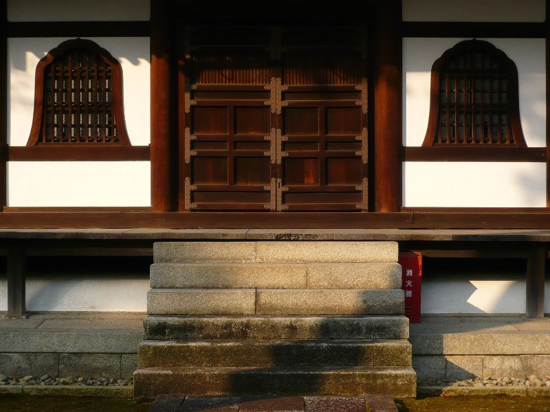 Early Morning, Shokokuji Temple (相国寺)