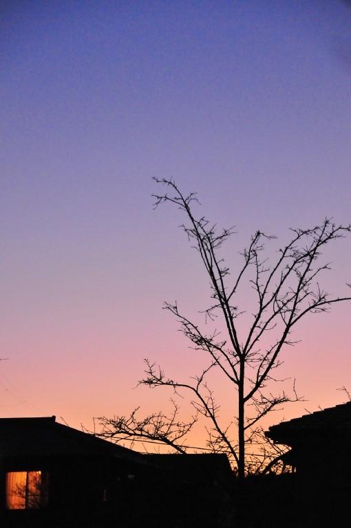 Sunset, Iwakura