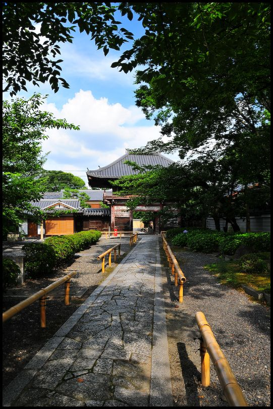 Entrance, Honpoji Temple (本法寺)