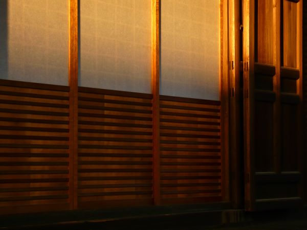 Late Afternoon, Teramachi Temple