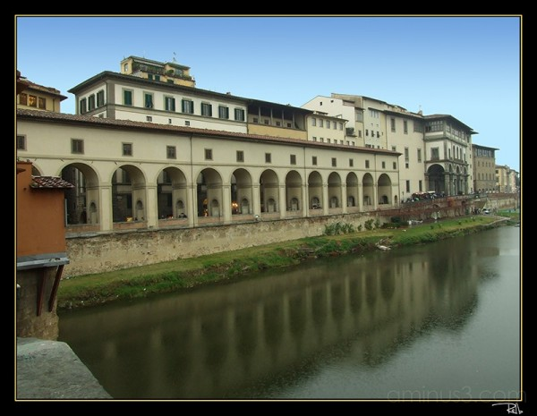 A view from Ponte Vecchio