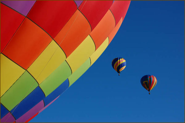 Hot air balloon festival Eire, Colorado