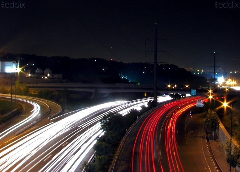 TEHRAN, Highway, Night