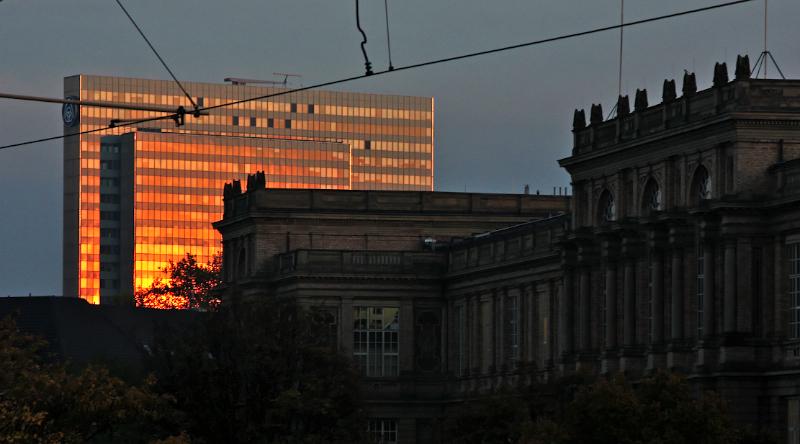 Kunstakademie Düsseldorf, Dreischeibenhaus