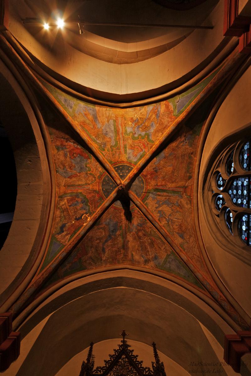 St. Maria in Lyskirchen, Nicholas Chapel Ceiling