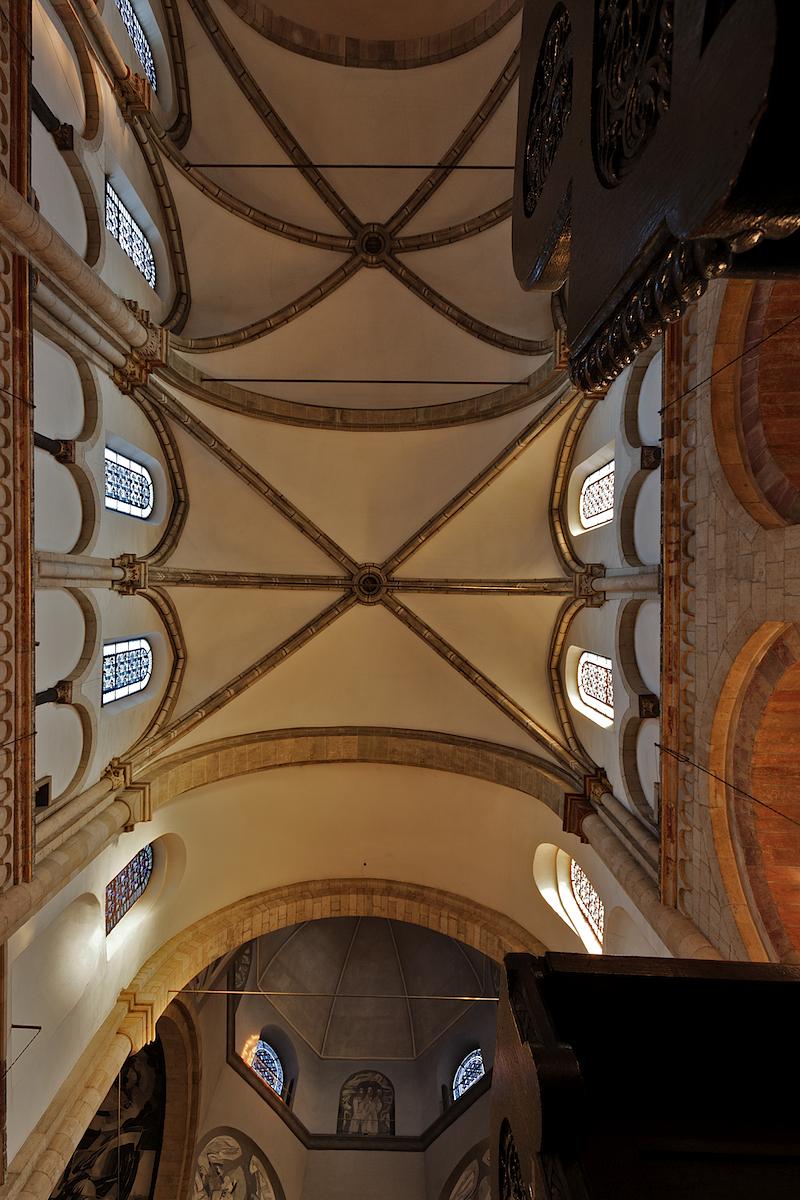 St. Aposteln, Ceiling