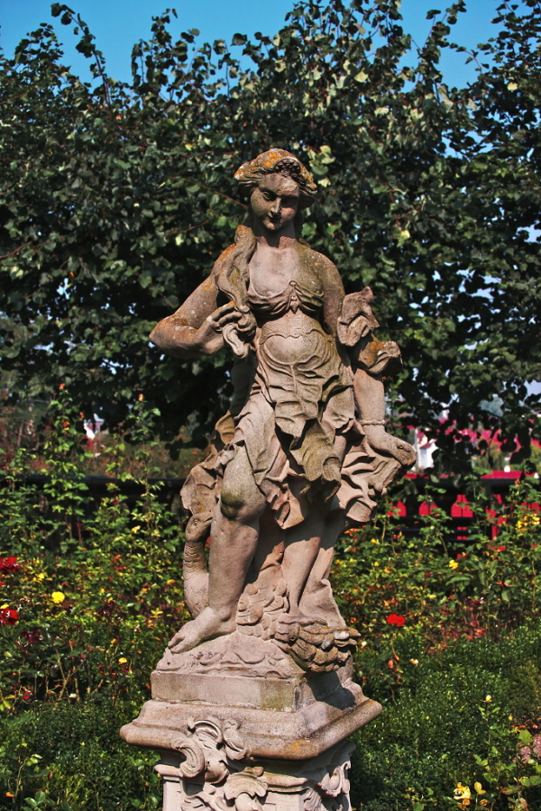 Statue in Rose Garden, Bamberg