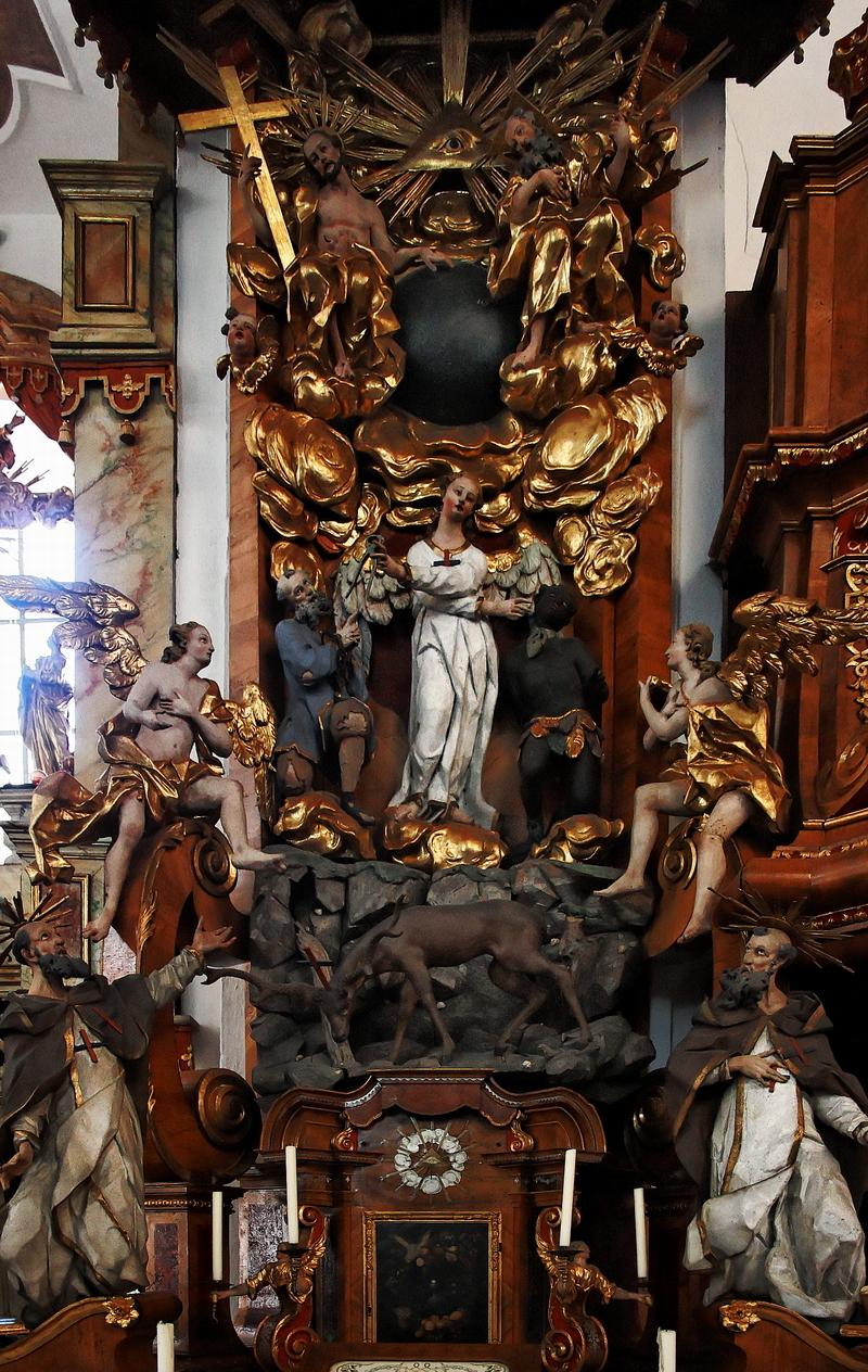 St. Getreu, Bamberg: Trinitarieraltar