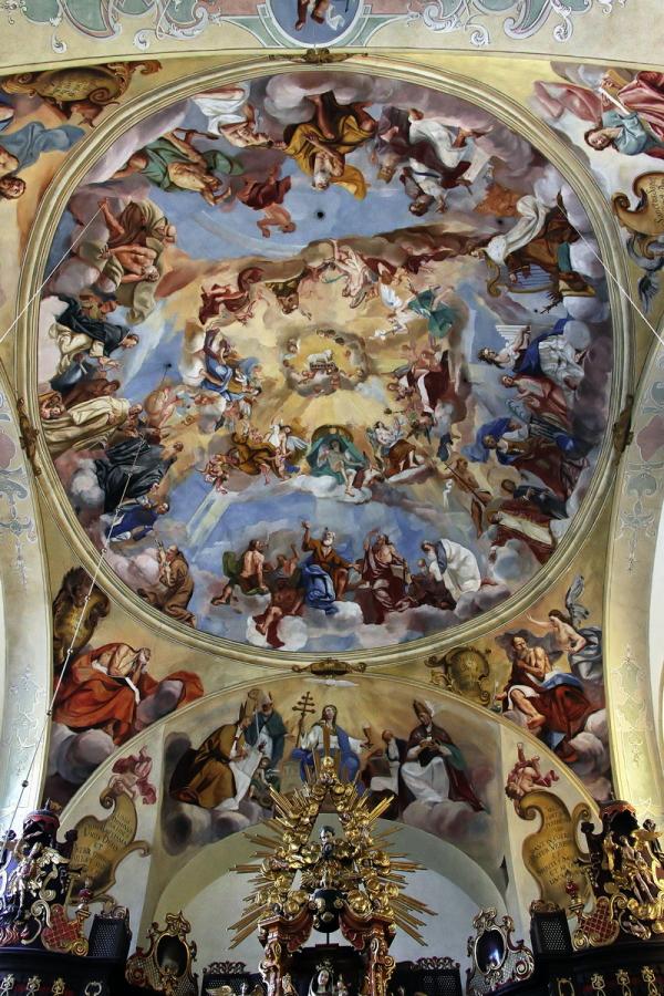 St. Getreu, Bamberg: Cupola