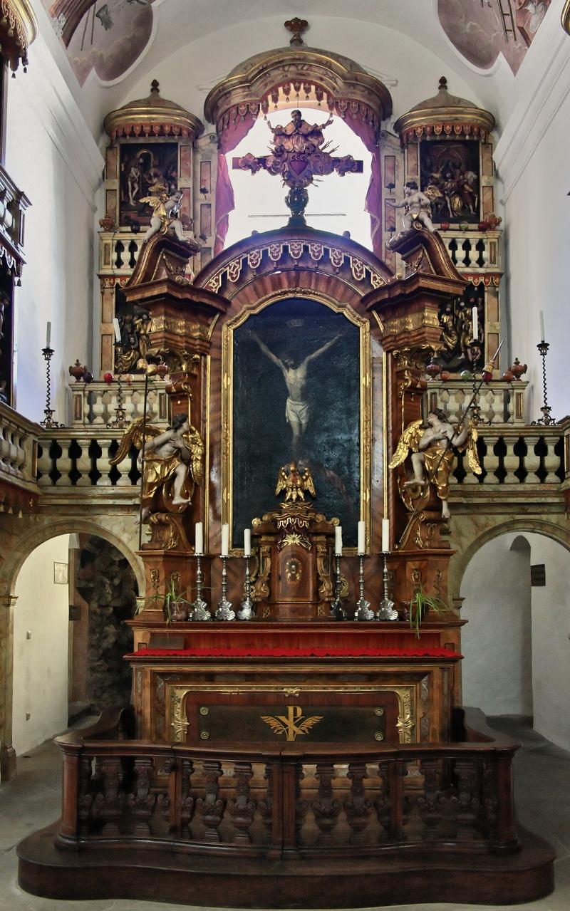 St. Getreu, Bamberg: Kreuzaltar