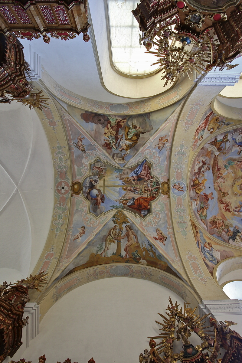 St. Getreu, Bamberg: Barrel Vault