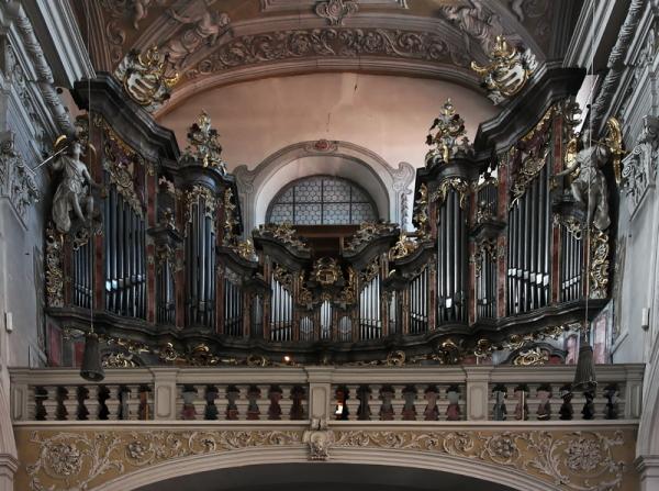 Obere Pfarre, Bamberg: Organ