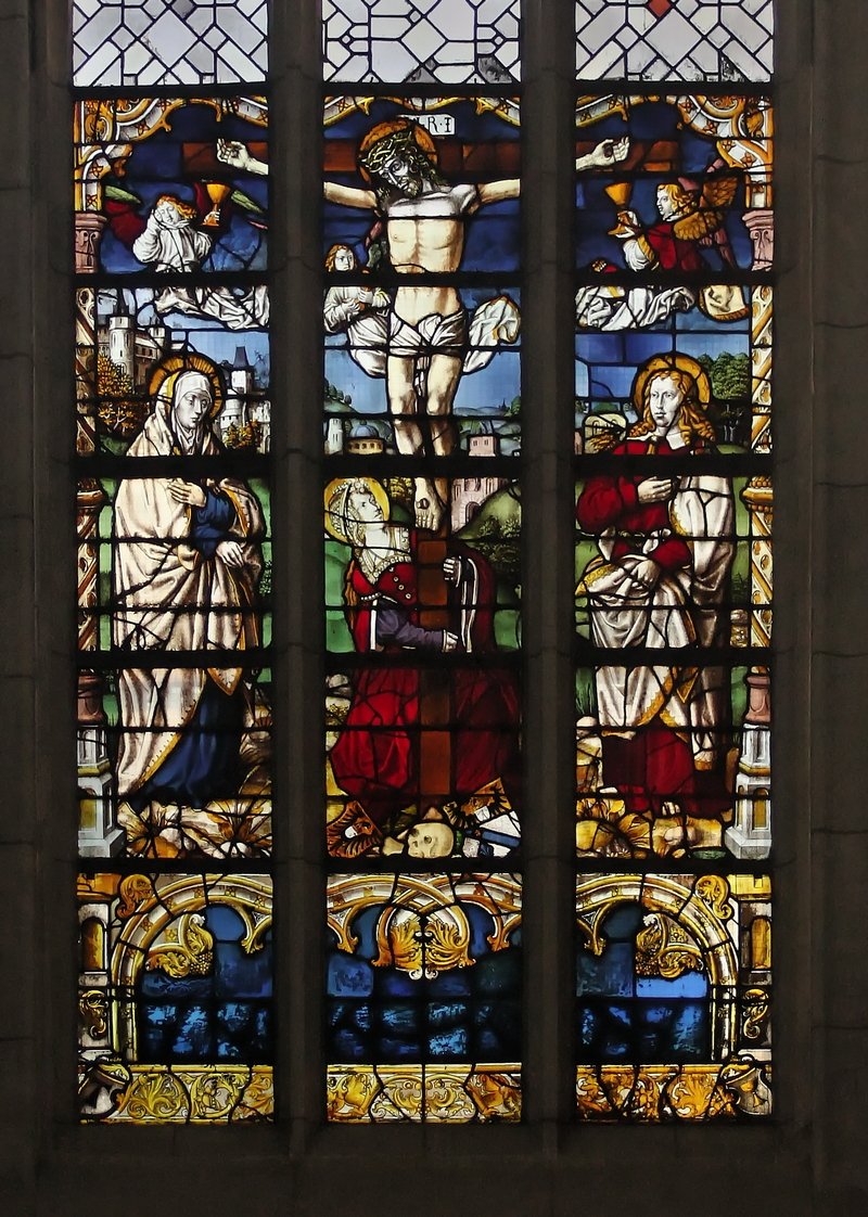 Crucifixion window, Antoniterkirche, Cologne