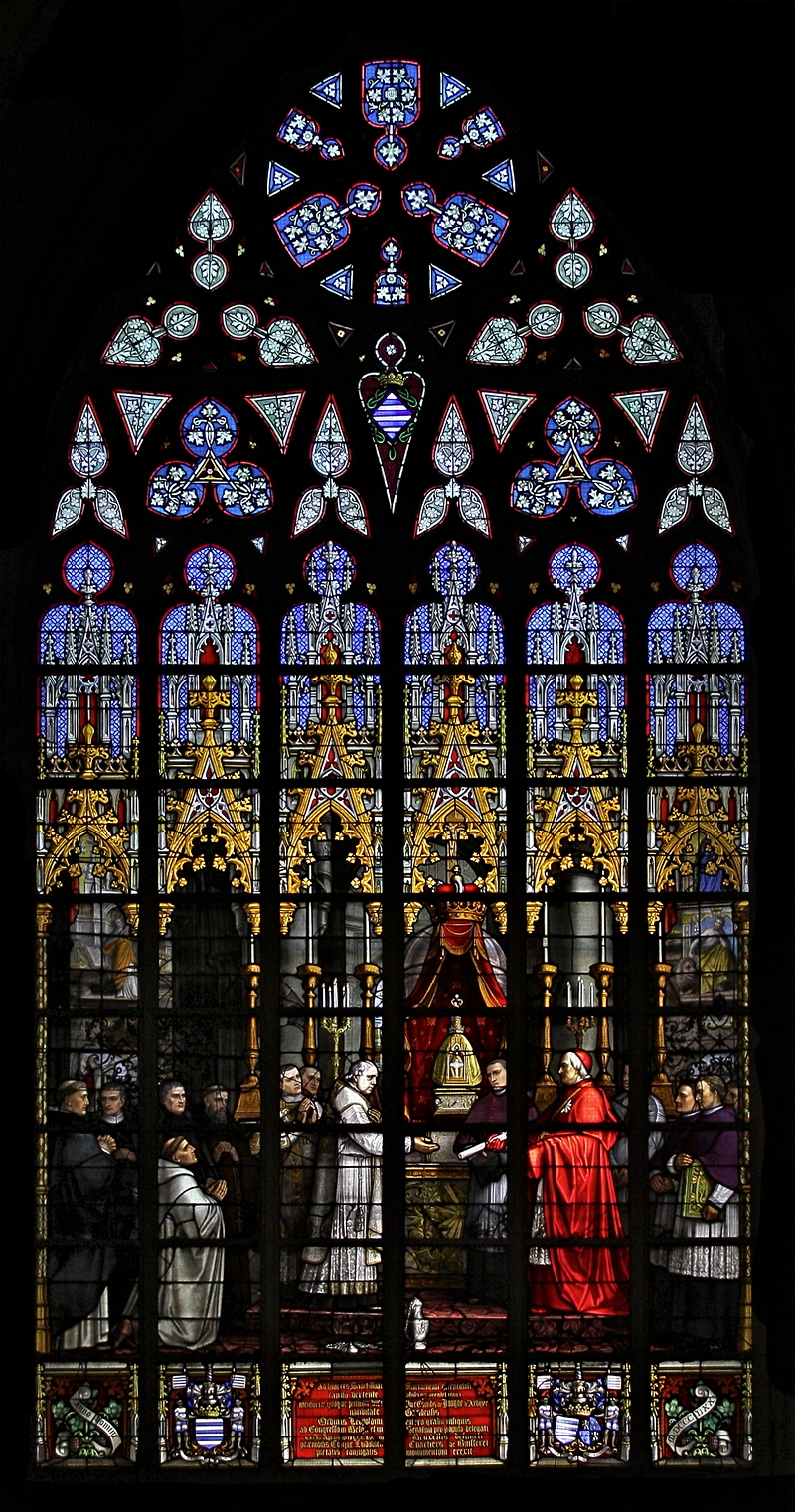 Saints-Michel-et-Gudule: Window
