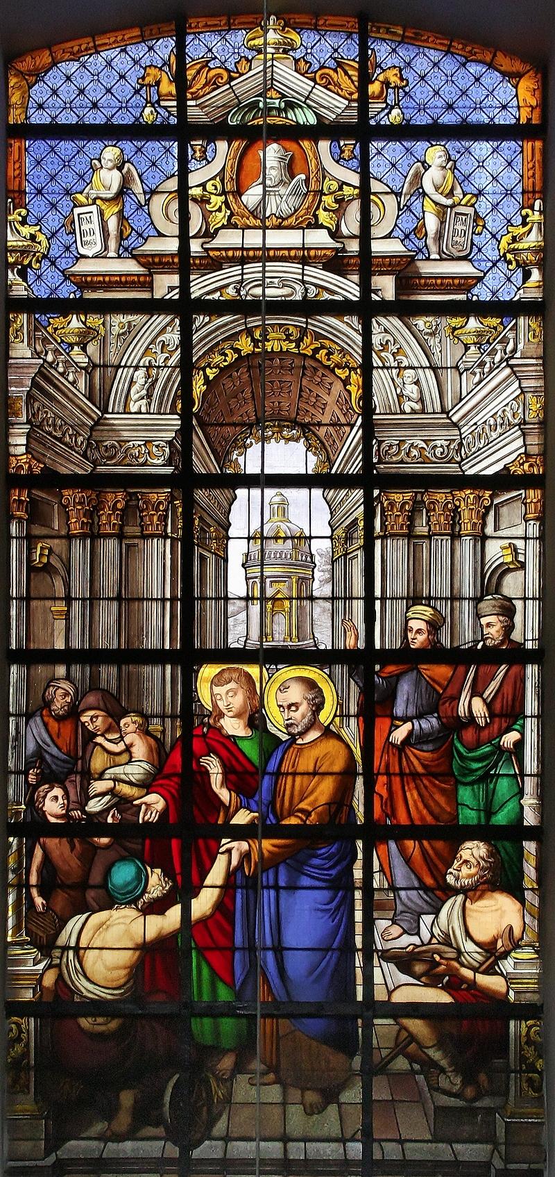 Notre-Dame du Finistère: Window