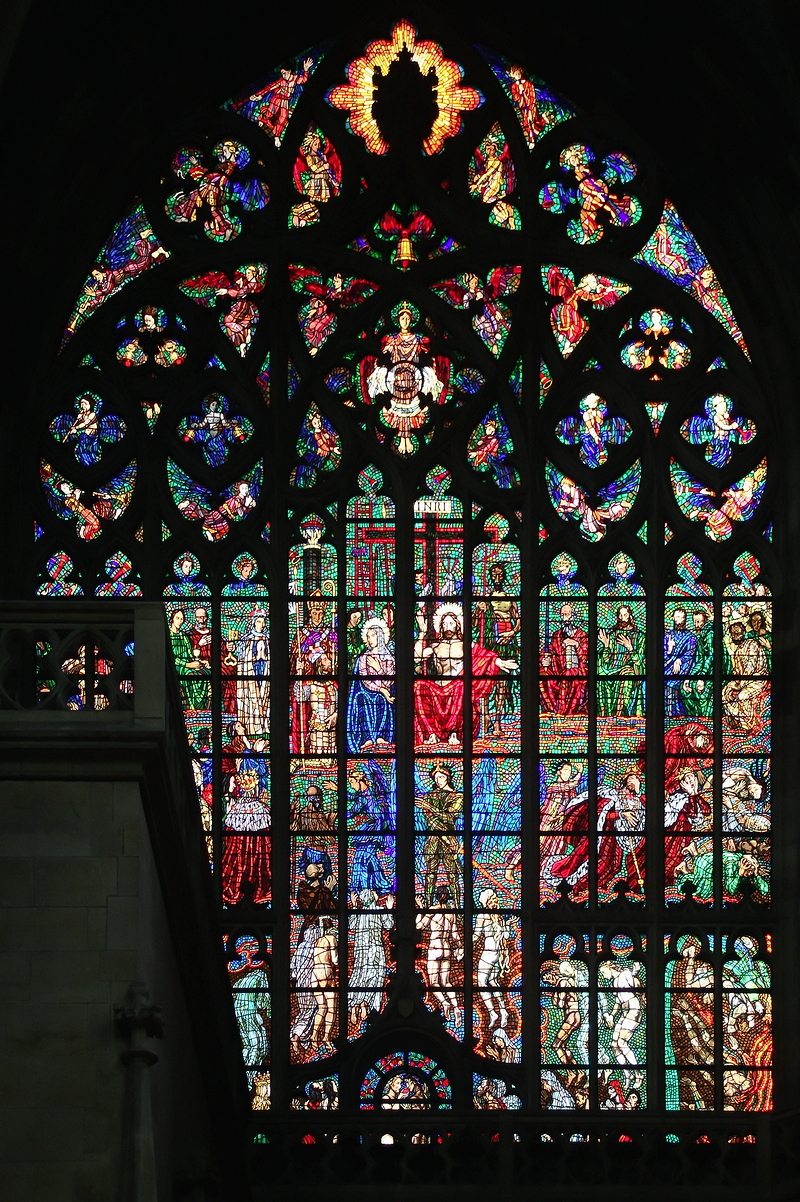 St Vitus, Prague: Window in Southern Transept