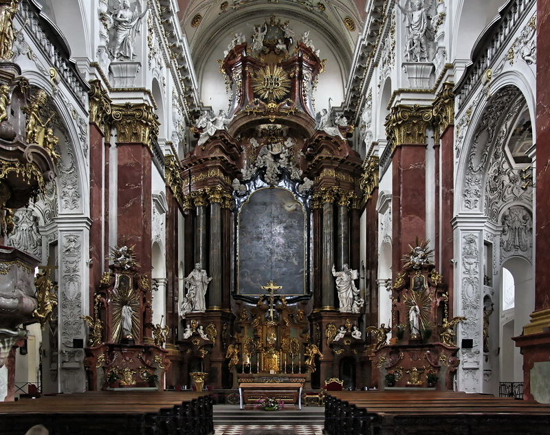 St Ignatius, Prague: High Altar