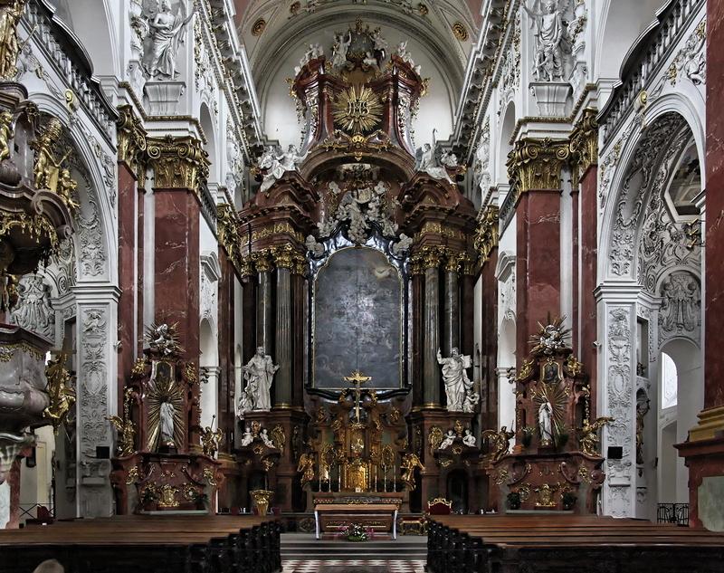 St Ignatius, Prague: High Altar