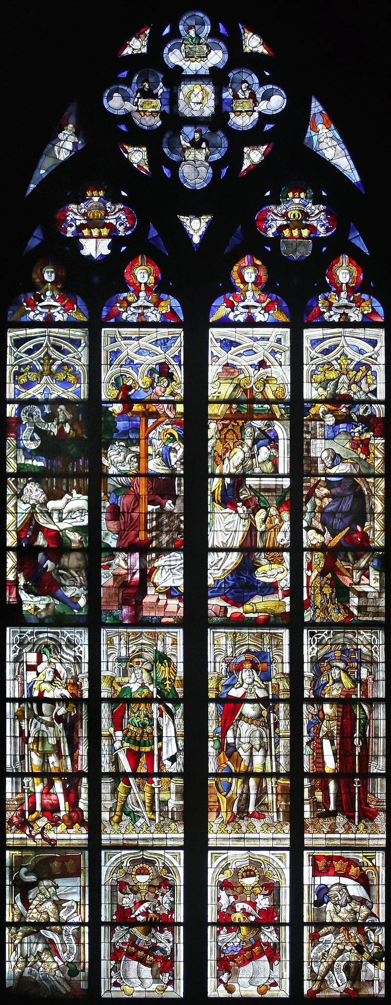 Cologne Cathedral: Nativity Window