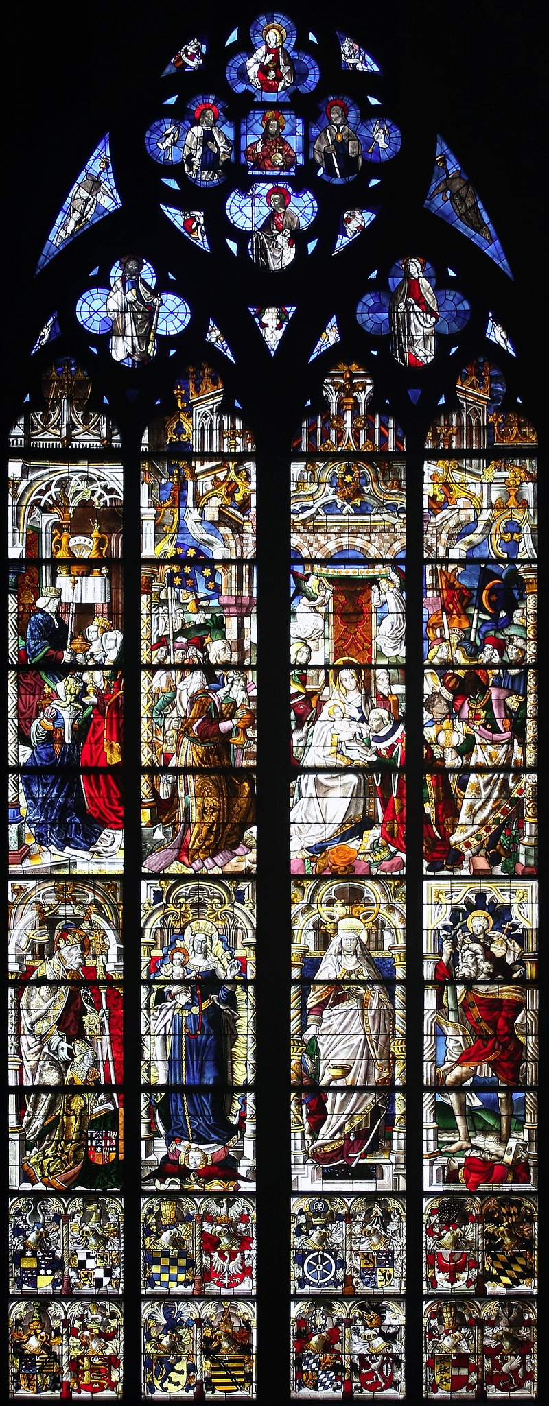 Magi Window, Cologne Cathedral