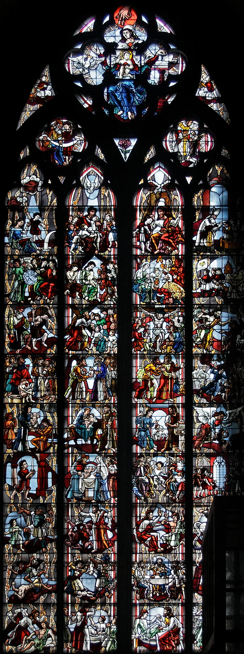 Cologne Cathedral: Children of Cologne Window